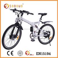 250W 36 volt self charging electric e bike bicycle