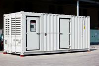 [GRANDNESS] TP1100 Containerized Type 1000KVA 800KW Original 4008TAG2A Diesel Generator Price Powered by Perkins