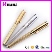 Best selling golden pen metal ballpoint pen heavy gold roller pen for promotional gifts
