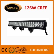 126W 19.8 inch Led Light Bar Spot Flood Combo Work Driving Atv Ute Suv Bar Offroad 4WD