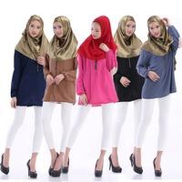 Mariya Rayon Islamic Tunic Muslim Women Long Top Daily & Occasion Wear