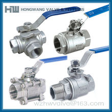 Direct Factory of 1000WOG Threaded Stainless Steel Ball Valve