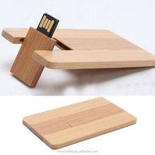Wonderful gift business wooden card USB Flash Memory Stick Pen Thumb Drive 8GB