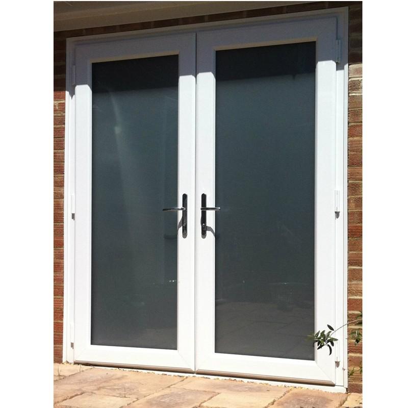 Moderna utiliza las puertas exteriores franc s la puerta - Puertas de entrada de aluminio modernas ...