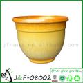 flor de cerámica titular de la olla decoración del jardín