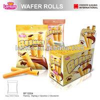 Lantos Brand chocolate and cream Wafer Roll Stick