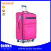 2015 women fashion luggage bag wholesale red color trolley travel bag