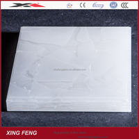 china manufacturer New technology translucent white glass stone 20mm 30mm