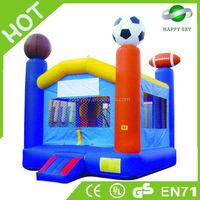 2015 New design CE certificate 0.55mm PVC sale cheap bouncy castle,jolly jumper adult, adult bounce house