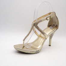 causal new style ladies low heel evening shoes for women