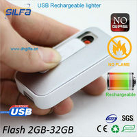 new product USB rechargeable lighter with bulk 2gb usb flash drives