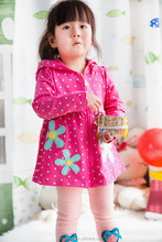 2015 Spring branded name kids clothing cotton casual girl dress