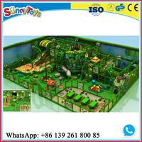 Guangzhou factory indoor children forest theme playground