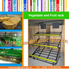 best sale Corrosion Protection Fruit Vegetable Display Rack