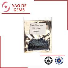 Round Cut Night Blue Stone Nano Wax Casting Best Nano Gems, Wuzhou Nano Gemstone