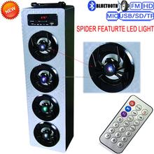 led flashing light bluetooth tower speaker