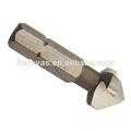 4.3 a 40mm vástago hexagonal 3 flauta de perforación de metal avellanador taladradoras