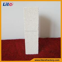 refractory mullite lightweight thermal insulating fire brick