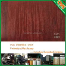 hot and cold laminate pvc membrane vacuum press plastic wood sheet for design of door
