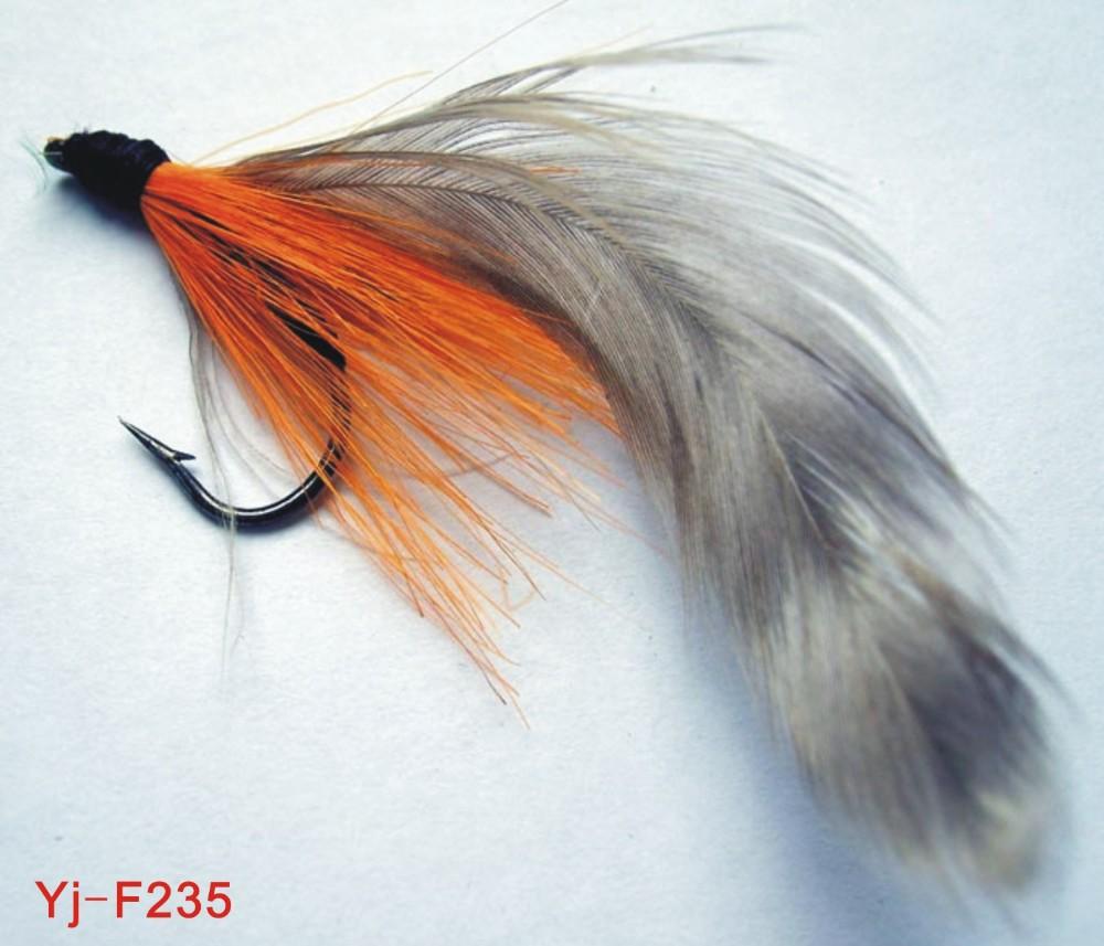 paon couleur fly mouches de p234che avec hame231on simple fly
