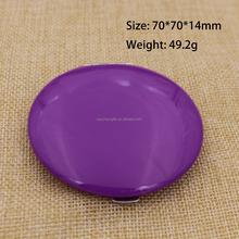 Purple Travel Compact Pocket Handbag Mirror