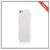 white phone case for iphone 5S fancy cell phone accessory