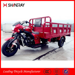 China 3 Wheel Motor Tricycle/ Motorized Tricycle Bike/ Cargo Carrier Tricycle