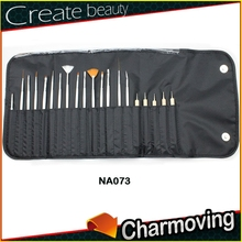 Hot Selling 20 pcs High Quality Nail Art Brush For Professionals