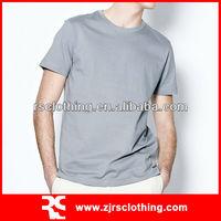 Mens Promotional Plain 100% Cotton T shirt High Quality T-shirt Pre-wash T-shirt