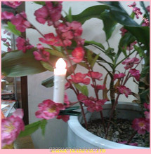Resin Drip led Taper Candle with Timer