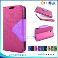 Elegant lady wallet leather case for digicel dl910 , flip cover case for digicel dl910