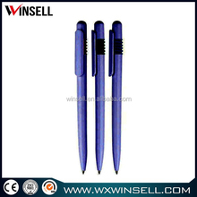 Top selling durable popular magnetic round plastic ball pen