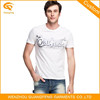 Wholesale 100% Cotton Branded Hot Basic T-Shirt For Man
