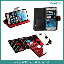 Genuine Knit Leather Mobile Phone Case for iPhone 6 6S