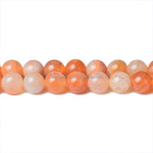 Pink Cracked Agate Round Pink Agate Beads Cracked Agate Beads Wholesale