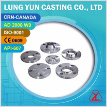 12 INCH ANSI JIS DIN STAINLESS STEEL PIPE FITTING HUB FLANGE