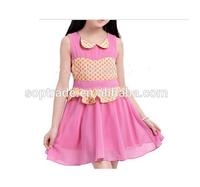 fancy dress ideas chiffon summer peter pan collar dress for girls