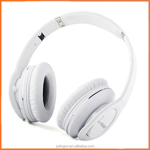 Comfortablenew design luxury faddish metal headphones bluetooth headset over sea