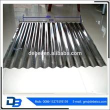 Galvanizado corrugado placa de acero de zinc para techos de chapa de acero