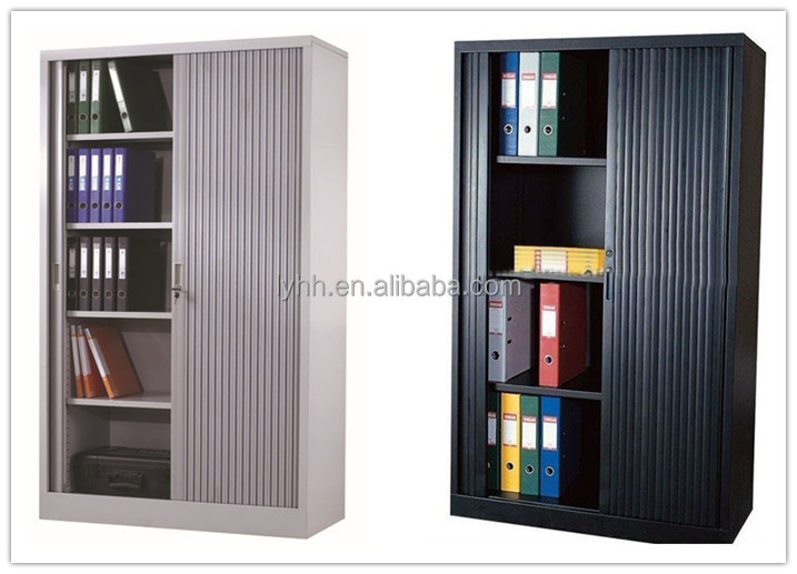 workspace Tambour Door Cabinets' sliding doors office ...