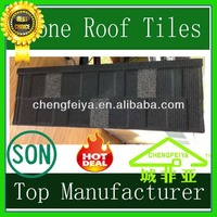 Noise resistent corrugated shingle metal roof/Hot sale sand coated roofing