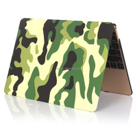 """Waterproof Equipment Case, Military Camouflage Pattern Printing Protective Case for Macbook 12"""" Retina"""