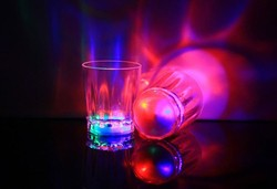 bar items LED Glass, Light Up LED Glass, Flashing LED Cup for promotional