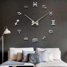 new novelty advertising wall sticker 3d number clocks / clock wall 3d