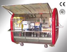CE OEM gas/electric mobile street fast food vending vintage airline trailer/carts/truck/kitchen/van/kiosk for sale