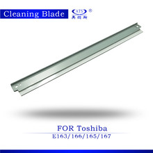 2015 new compatible cleaning blade e166 for toshiba copier e163 167