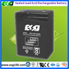 Rechargeable vrla battery 6V4AH Long life sealed lead acid battery