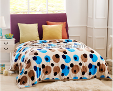 2015 New Style Printing super soft check blanket/throw/High Quality For adults
