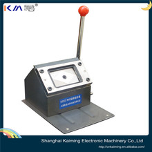 custom different shape and size manual plastic card puncher