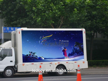 ShenZhen Electronic xxx video P6 advertising led truck for rent screen